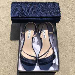 Matching shoes and evening bag set!